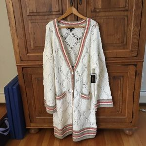 Juicy Couture Angel Long Cardigan